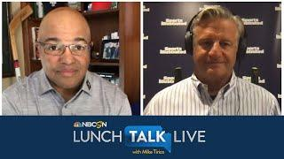 College sports writer Pat Forde looks ahead to football in the fall   Lunch Talk Live   NBC Sports
