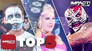 5 GREATEST Slammiversary Moments in IMPACT Wrestling History!   IMPACT Plus Top 5