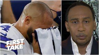 'I'm very, very sad for Dak' - Stephen A. reacts to Prescott's ankle injury | First Take
