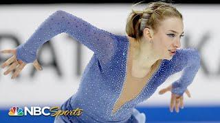 Amber Glenn delivers incredible free skate, takes home silver at US Nationals | NBC Sports