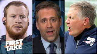 The Patriots would give Carson Wentz the best chance to rebound - Max Kellerman | First Take