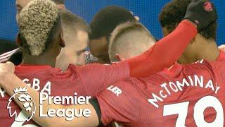 Anthony Martial nods Manchester United in front of Aston Villa | Premier League | NBC Sports