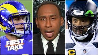 Stephen A. still picks the Seahawks over the Rams as the best team in the NFC West | First Take