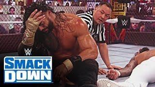 """Roman Reigns makes Jey Uso say """"I quit"""" inside Hell in a Cell: SmackDown, Oct. 30, 2020"""
