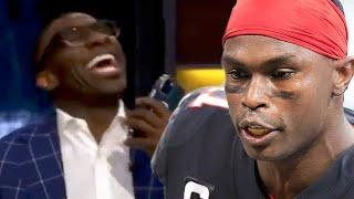 Shannon Sharpe BLASTED For Calling Julio Jones On Live TV Without Him Knowing, Says He's OUT Of ATL