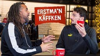 """""""I've no doubt Erling will get even better!""""  But first coffee with Mats Hummels"""