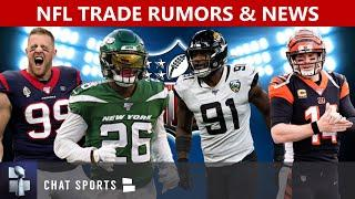 NFL Trade Rumors On JJ Watt, Jamal Adams, Yannick Ngakoue & Le'Veon Bell + Andy Dalton News