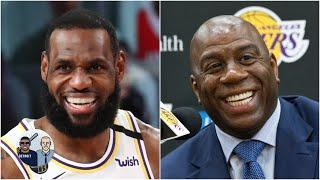 LeBron will pass Magic Johnson on my all-time list if Lakers win title - Jalen Rose | Jalen & Jacoby