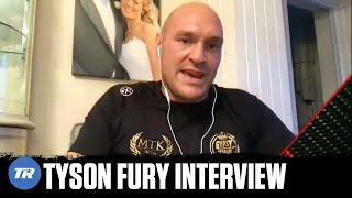 Tyson Fury gives update on 3rd Wilder fight & Anthony Joshua: I will be undisputed by end of 2021!