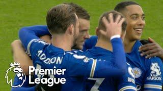 Jamie Vardy penalty gives Leicester City lead against Wolves | Premier League | NBC Sports