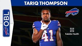 """Tariq Thompson: """"I Couldn't Have Come Into a Better Situation""""   Buffalo Bills   One Bills Live"""