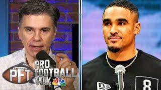 Jalen Hurts will add new dimension to Eagles' offense | Pro Football Talk | NBC Sports