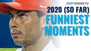 ATP Tennis Funny Moments in 2020 Season (So Far!)
