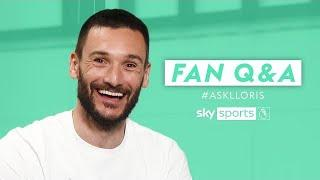 Who is the BEST striker Lloris has ever faced? | Fan Q&A with Hugo Lloris