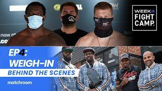 Fight Camp 4: Day 4 - Whyte vs Povetkin, Taylor vs Persoon 2 (Behind The Scenes) Weigh-In