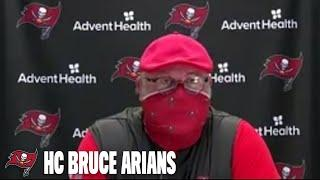 Bruce Arians on First Week of Training Camp & Running Back Depth | Press Conference