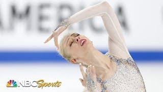 Bradie Tennell wins second U.S. National title on strength of terrific free skate | NBC Sports