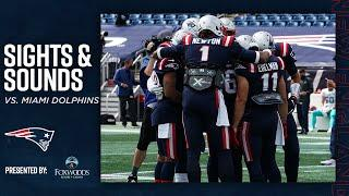 Sights & Sounds | On the Sidelines of Dolphins vs. Patriots
