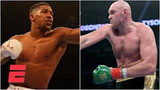 Anthony Joshua vs. Tyson Fury in negotiations for heavyweight unification bout | Top Rank Boxing