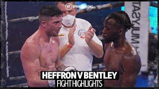 What a fight! Mark Heffron v Denzel Bentley fight highlights