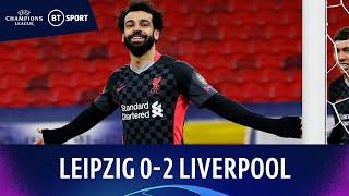 Leipzig v Liverpool (0-2)   Salah and Mané give Reds timely win!   Champions League Highlights