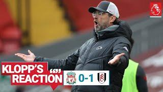 Klopp's Reaction: Boss on changes, performance & training plans | Liverpool vs Fulham
