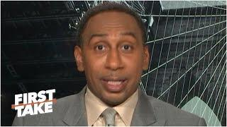 Stephen A. doesn't think the NFL season is in jeopardy despite the HOF Game cancellation| First Take