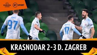 Krasnodar vs Dinamo Zagreb (2-3) | Europa League Highlights