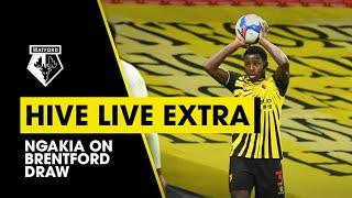 HIVE LIVE EXTRA | NGAKIA ON BRENTFORD DRAW & TONEY PENALTY