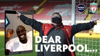 Sadio Mane helps lifelong Liverpool fan score at Anfield   'You shoot better than Robbo!'