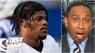 Stephen A. doesn't like the Ravens' chances to make the NFL playoffs | First Take