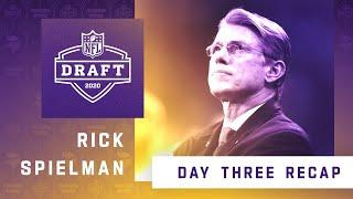 Paul Allen Talks With Rick Spielman Following Day 3 of the 2020 NFL Draft for the Minnesota Vikings