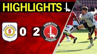 CREWE 0-2 CHARLTON | Sky Bet League One Highlights (September 2020)