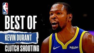 Kevin Durant's BEST Clutch Buckets‼
