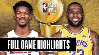 HEAT at LAKERS | FULL GAME HIGHLIGHTS | October 9, 2020