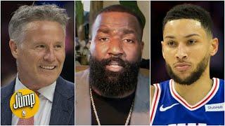 THANK YOU BRETT BROWN! - Kendrick Perkins on Ben Simmons moving to a power forward | The Jump