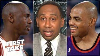 Stephen A. breaks down MJ's rift with Charles Barkley | First Take