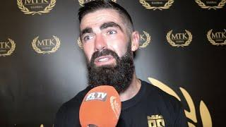 'THAT WASN'T ME, THERE WAS NO DOG IN ME TONIGHT' - JONO CARROLL REFLECTS ON MAXI HUGHES DEFEAT