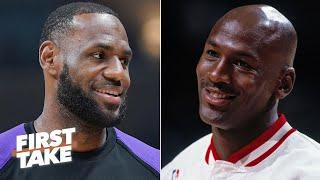 LeBron or Michael Jordan: Who would you rather team up with? | First Take