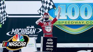 Kevin Harvick remains the man to beat after NASCAR Cup Series sweep at Michigan | Motorsports on NBC