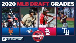 2020 MLB Draft Draft Grades: Mets, Cardinals and Blue Jays earn 'A' for solid hauls | CBS Sports HQ