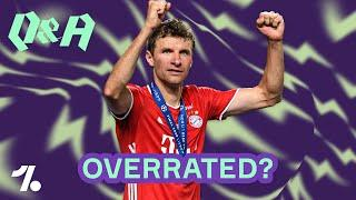Ist Thomas Müller overrated? FIFA 21 Ratings? Kann Gladbach Meister werden? Onefootball Q&A