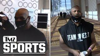 Mike Tyson And Roy Jones Jr. Get Ready To Hit The Scale For Their Big Fight | TMZ Sports