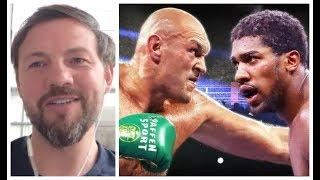 'TYSON FURY WILL BREAK ANTHONY JOSHUA PHYSICALLY & MENTALLY!' - ANDY LEE EXPLAINS WHY (RAW & UNCUT)