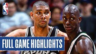 Spurs Take The Win as Tim Duncan and Kevin Garnett Duel For First Time!
