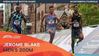 Photo finish for men's 200m in Boston | Continental Tour Gold