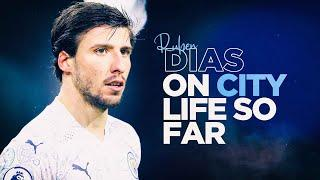 RUBEN DIAS REACTS | SETTLING IN TO HIS CITY CAREER