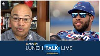Bubba Wallace proud to speak up within NASCAR | Lunch Talk Live | Motorsports on NBC