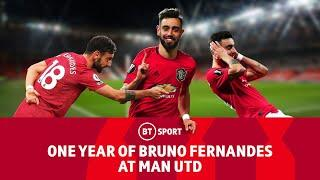 The best of Bruno Fernandes' first year at Manchester United!
