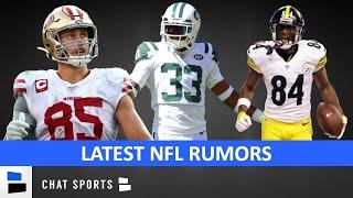 NFL Rumors On Antonio Brown Future, Jamal Adams Trade, George Kittle Extension & Devonta Freeman?